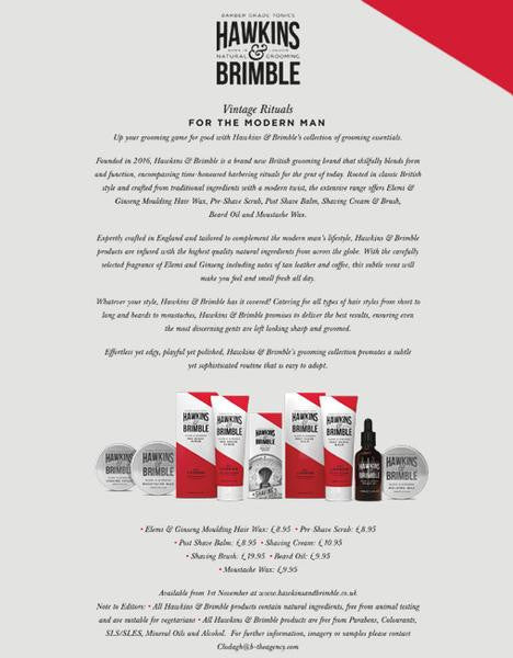Grooming Essentials Product Launch (Press Release) - UK