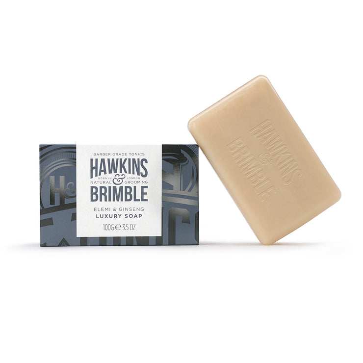 Hawkins & Brimble Luxury Soap Bar (100g) - Hawkins & Brimble EU