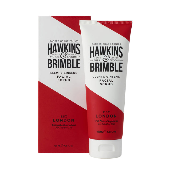Facial Scrub 125ml - Hawkins & Brimble EU