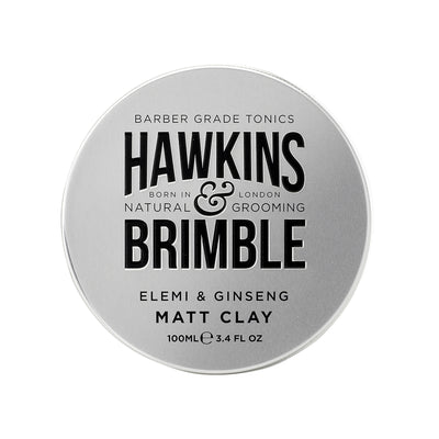 Matt Clay (Light to Medium Hold with Restylability) 100ml - Hawkins & Brimble EU