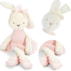 Baby Soft Plush Toys Brinquedos Rabbit Bunny Stuffed Toy - Stroller Accessories