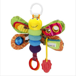Plush Kid Toy Stroller-Mobile Stuffed Teether