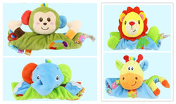 Plush Placate With Teether Infant Reassure - Early Educational Toy