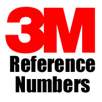 Browse our 3M Reference Numbers collection.