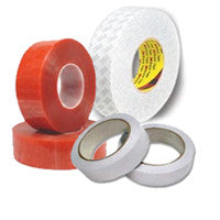 Browse our Double Sided Tapes for HSE Plastics up to 0.4mm thick mainly for indoor use collection.