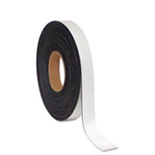 White Faced Dry Wipe Magnetic Tape 25mm x 10m