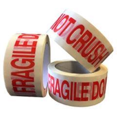 PP5 Fragile Do Not Crush Pre Printed Packaging Tape 48mm x 66m