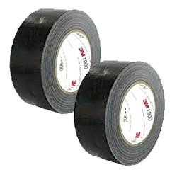 3M™ 1900 Black Cloth Tape 50mm x 50m