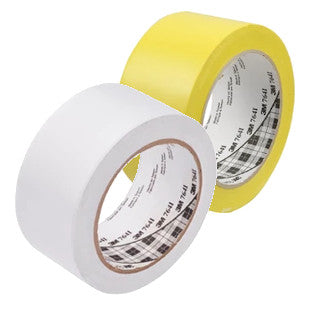 3M 764i General Purpose Line Marking Tape 50mm x 33m - Pack of 12 Rolls Special Offer