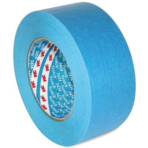 3M 3434 Blue Automotive Masking Tape 19mm x 50m
