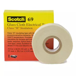 3M 69 Glass Cloth Electrical Tape 50mm x 33m