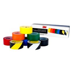 3M™ 5S Colour Coding Starter Pack 8 Rolls - 6 rolls of 3M 471 & 1 roll each of 3M 5700 and 3M 5702