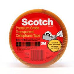 3M 610 Cellophane Film Tape 25mm x 66m