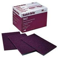 3M 7447 Hand Pads - Very Fine Abrasive - Pack of 20