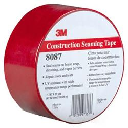 3M VentureClad 8087CW Red Breather Membrane Sealing Tape 99mm x 50m