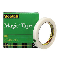 3M 810 Scotch® Magic™ Tape 12mm x 66m