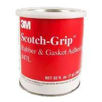 6 Pack of 3M 847 Scotch-Grip Oil Resistant Adhesive 1ltr