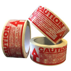 PP1 Caution Pre Printed Packaging Tape 48mm x 66m