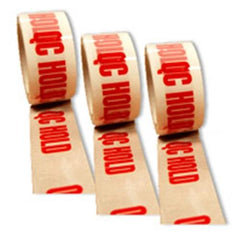 PP9 QC Hold Pre Printed Packaging Tape 48 x 66m
