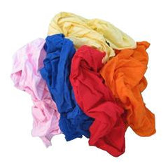 Automotive Coloured Wiping Rags Special Offer 10KG Pack