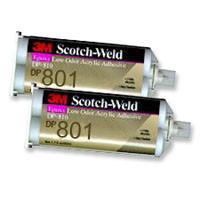 3M DP801 2 Part EPX Acrylic Adhesive 50ml