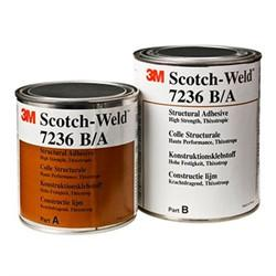 3M 7236 B/A Two Part Structural Adhesive 1 Litre