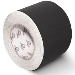 GTB65 Reinforced Matt Black Aluminium Foil Tape 1200mm x 50m