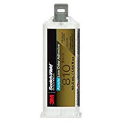 3M DP810 2 Part EPX Acrylic Adhesive 48.5ml