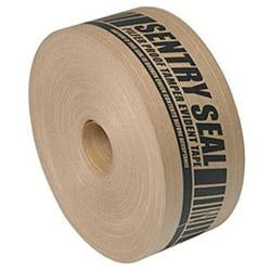 Caution Pre Printed Water Activated Reinforced Gum Paper Tape