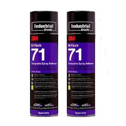 3M Spray 71 Special Offer - Pack of 2 (£17.85 per can)