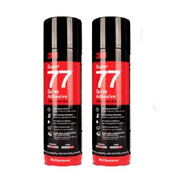 3M™ Super 77™ Spray Adhesive Special Offer - Pack of 2 (£7.97 per can )