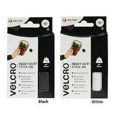 VELCRO® Brand Stick On Coins Set of 6 - 45mm dia