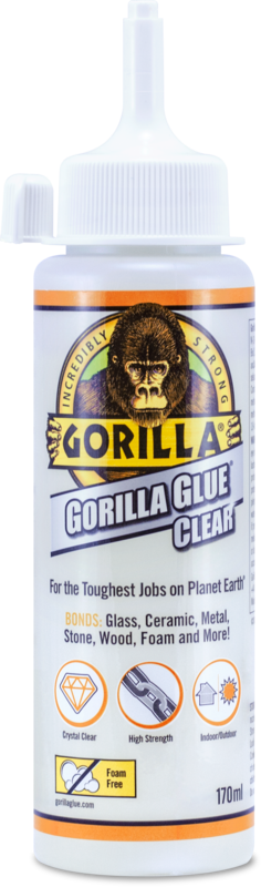 Gorilla glue 170ml Clear