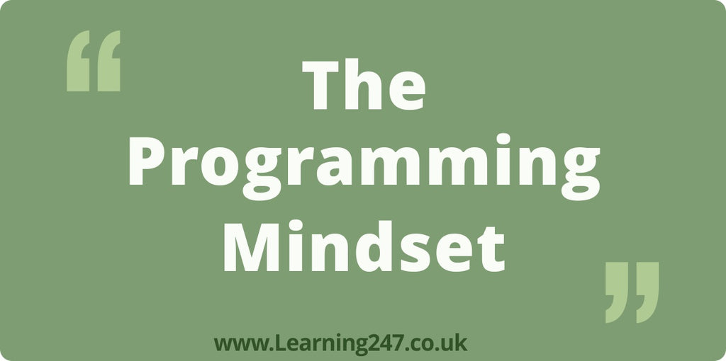 The Programming Mindset