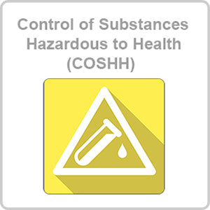 Control of Substances Hazardous to Health (COSHH) CPD Certified Online Course