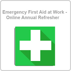 Emergency First Aid at Work - Online Annual Refresher CPD Certified Online Course