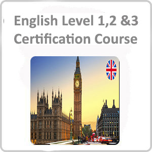 English Level 1,2 &3 Certification Course