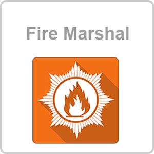 Fire Marshal CPD Certified Online Course