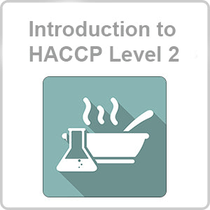HACCP Level 2 CPD Certified Online Course
