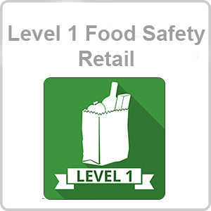 Food Safety in Retail Level 1 CPD Certified Online Course