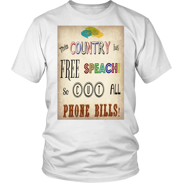Free Speach Gildan Unisex T-shirt