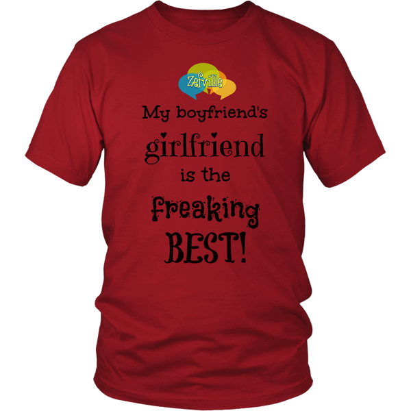 The best Girlfriend Gildan Unisex T-shirt