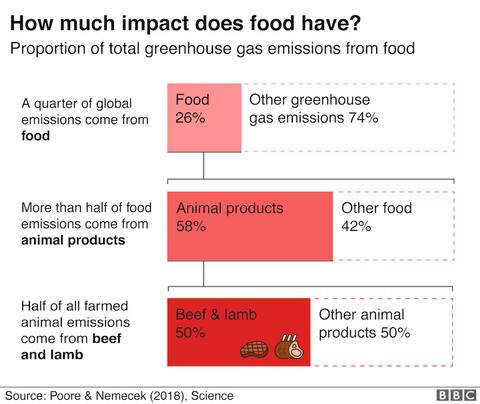 Emissions from food Production BBC &Keep