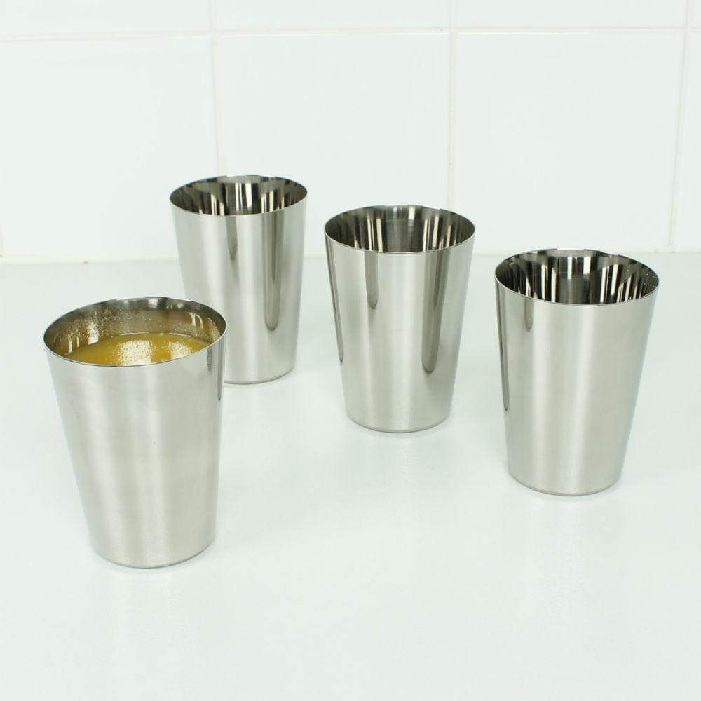 A Slice Of Green A Slice Of Green Stainless Steel Tumblers 300Ml - Set Of 4 &keep
