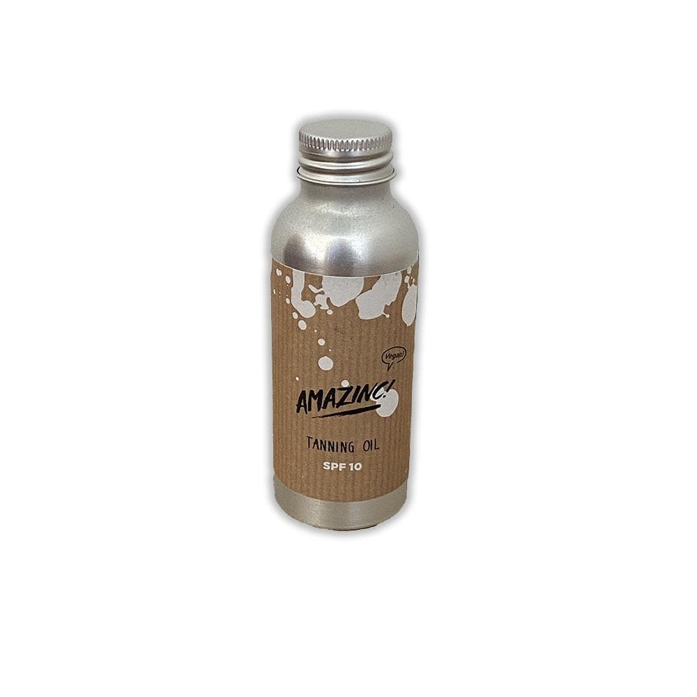 Amazinc! Natural Tanning Oil SPF10 100ml &Keep