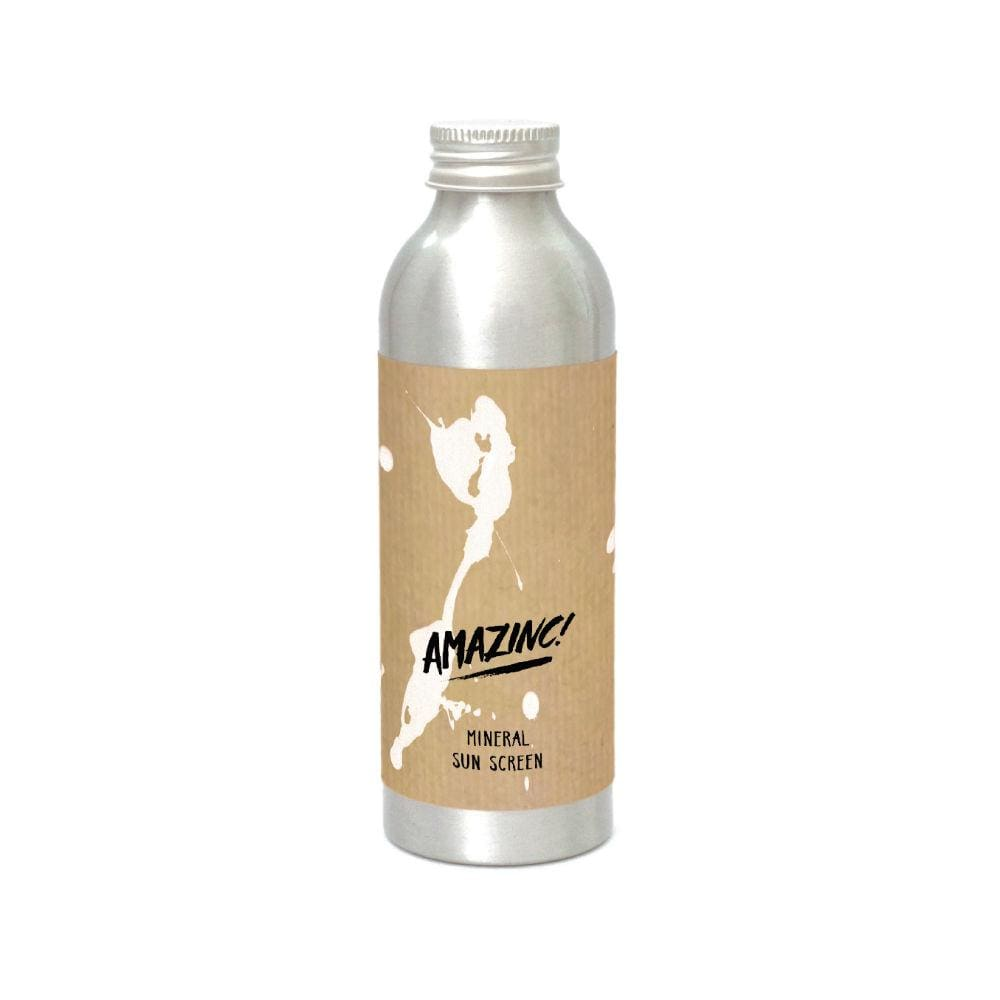 Amazinc! Amazinc! Natural Mineral Sunscreen Lotion SPF50+ 150ml &Keep