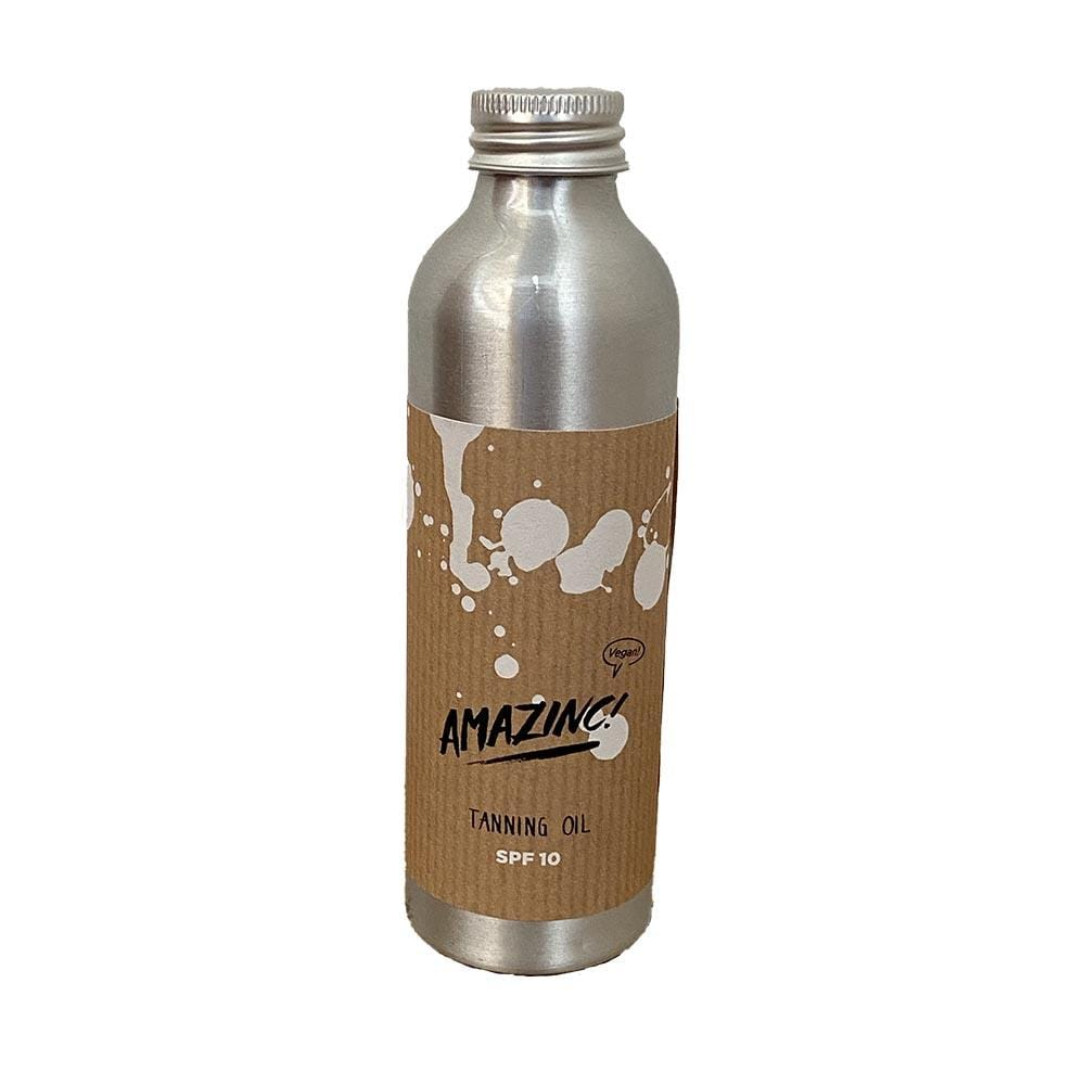 Amazinc! Natural Tanning Oil SPF10 150ml &Keep