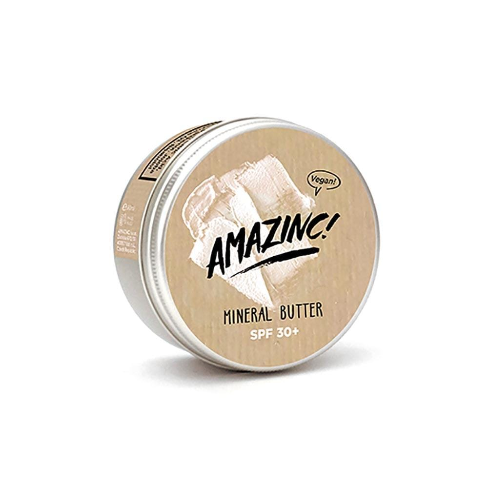 Amazinc! Mineral Butter Vegan Sunscreen SPF30+ 70g &Keep