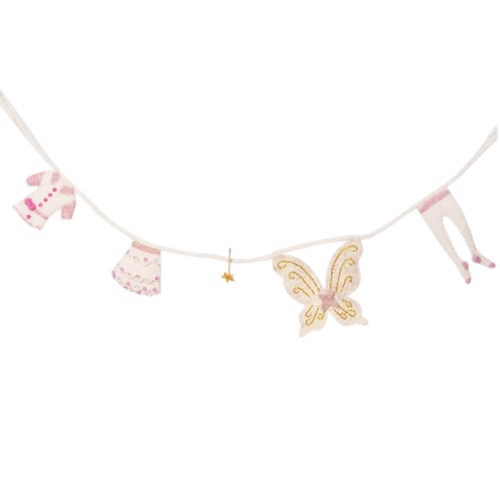 Fairy Washing Line in Felt by Amica &Keep