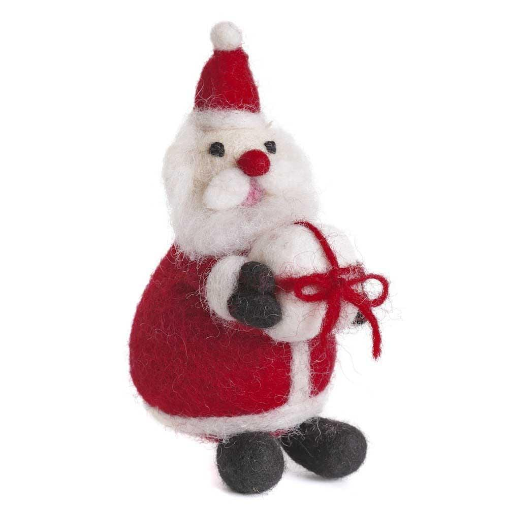 Father Christmas Felt Hanging Decoration by Amica &Keep